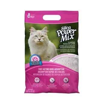 Picture of CAT LITTER CAT LOVE SILICA POWER MIX CLUMPING LITTER - 8lbs