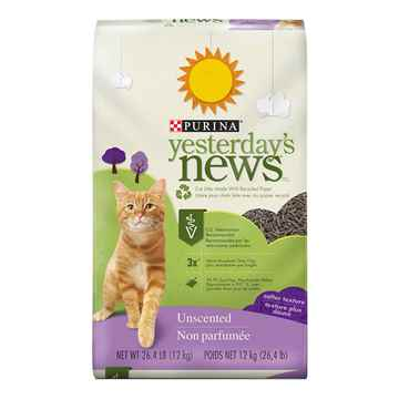 Picture of CAT LITTER YESTERDAYS NEWS SOFT TEXTURE-12kg