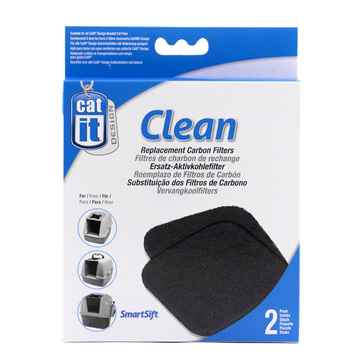 Picture of LITTER PAN HOODED Catit Replacement Carbon Filters - 2/pk