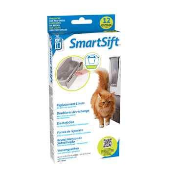 Picture of LITTER PAN CATIT SMARTSIFT Waste Pan Repl Liners - 12/pk