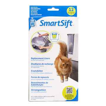 Picture of LITTER PAN CATIT SMARTSIFT Pan Base Repl Liners - 12/pk
