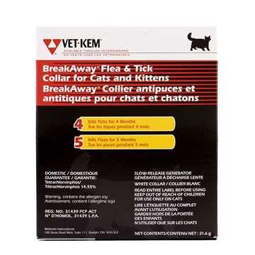 Picture of VET KEM BREAKAWAY FLEA & TICK COLLAR for CATS/KITTENS