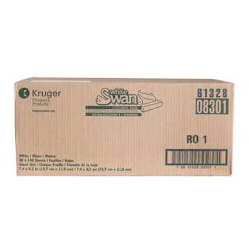 Picture of FACIAL TISSUE WHITE SWAN 2ply  #08301 30 x 100