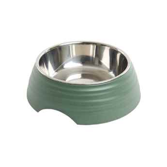 Picture of BOWL BUSTER 2-IN-1 MELAMINE Frosted Ripple Dusty Green - 700ml