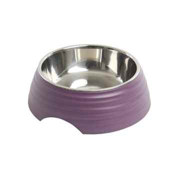 Picture of BOWL BUSTER 2-IN-1 MELAMINE Frosted Ripple Dusty Purple - 700ml