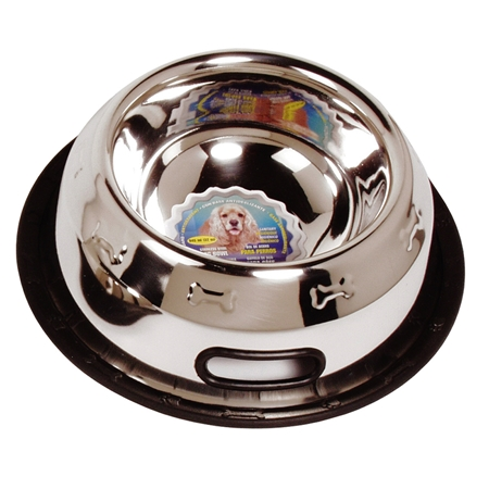 Picture of BOWL Dogit Stainless Steel Non Spill  Extra Large (73504) - 32oz