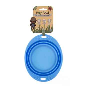 Picture of BOWL SILICONE TRAVEL BOWL Blue - 0.75 liters