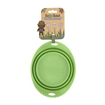 Picture of BOWL SILICONE TRAVEL BOWL Green - 0.75 liters