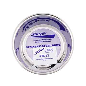 Picture of BOWL SS Premium Heavy Duty with Rubber Base (J0803G) - 10oz