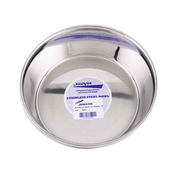 Picture of BOWL SS Premium Heavy Duty with Rubber Base (J0803K) - 64oz
