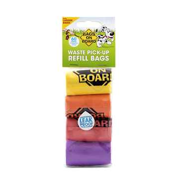 Picture of BAGS ON BOARD CLEAN UP BAGS RAINBOW REFILL (10204)-4/pk