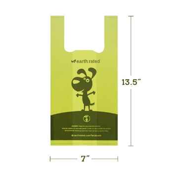 Picture of PET WASTE EARTH RATED PoopBags with Handle 7inx13in Scented - 120/box