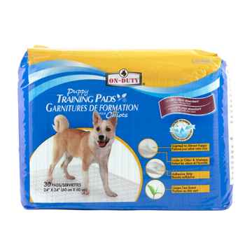 Picture of TRAINING PADS ON DUTY PUPPY PADS 24in x 24in - 30/bag
