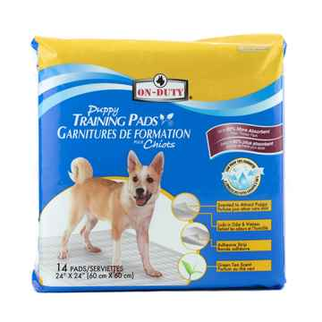 Picture of TRAINING PADS ON DUTY PUPPY PADS 24in x 24in - 14/bag