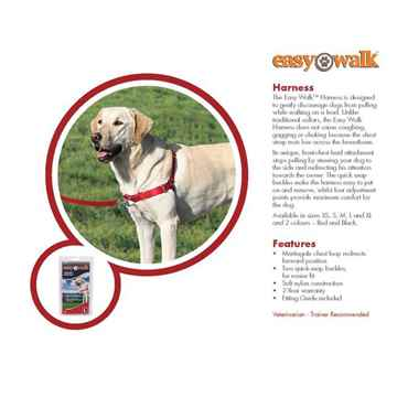 Picture of HARNESS EASY WALK Premier Pet RED - Small