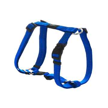 "Picture of HARNESS ROGZ UTILITY ""H"" HARNESS NITELIFE Blue - Small"