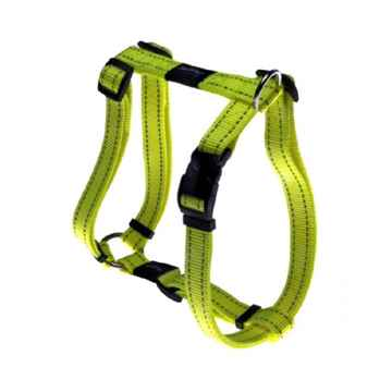 "Picture of HARNESS ROGZ UTILITY ""H"" HARNESS NITELIFE Yellow - Small(tu)"