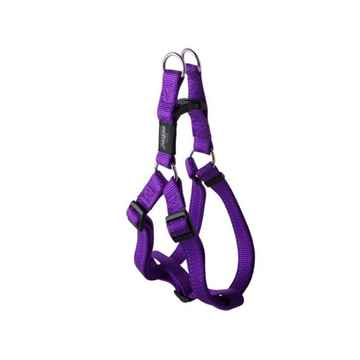 Picture of HARNESS ROGZ UTILITY STEP IN HARNESS Snake Purple - Medium(tu)