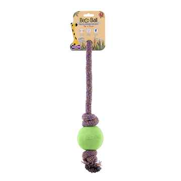 Picture of TOY DOG BECO Ball ON-A-ROPE Large - Green