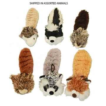 Picture of TOY DOG BOUNCY BURROW BUDDIES BABIES with SQUEAKER And Ball - 8in