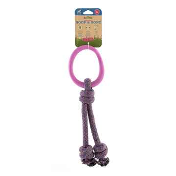 Picture of TOY DOG BECO HOOP ON-A-ROPE Small - Pink
