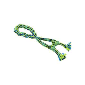 Picture of TOY DOG BUSTER Bungee Rope Double Knot Blue/Green