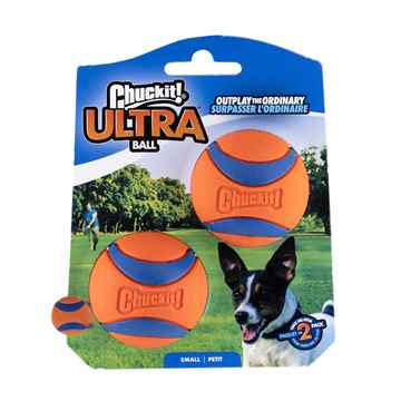 Picture of TOY DOG CHUCKIT ULTRABALL Rubber Small - 2/pk