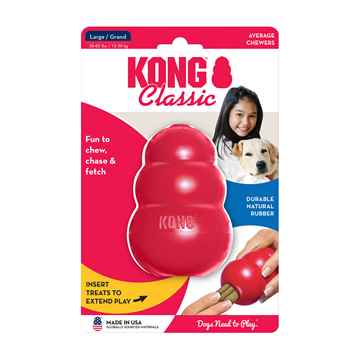 Picture of TOY DOG KONG CLASSIC RED (T1) - Large