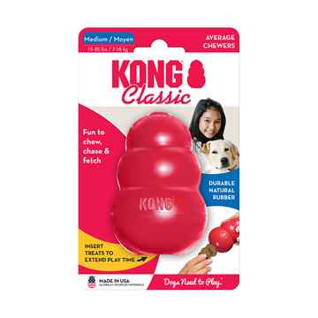 Picture of TOY DOG KONG CLASSIC RED (T2) - Medium