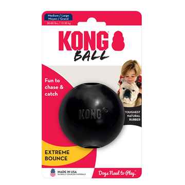 Picture of TOY DOG KONG BALL EXTREME Med/Lrg Dogs (UB1) - 3in