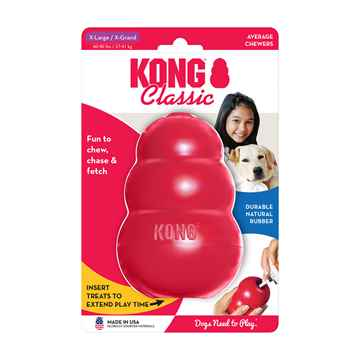 Picture of TOY DOG KONG CLASSIC RED (KXL) - X Large