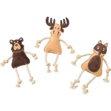 Picture of TOY DOG Dura-Fused Leather Forest Animals Assorted - 14in