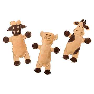 Picture of TOY DOG Dura-Fused Leather Barnyard Animals Assorted - 11in