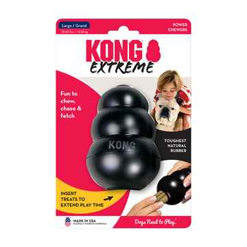 Picture of TOY DOG KONG EXTREME BLACK (K1) - Large