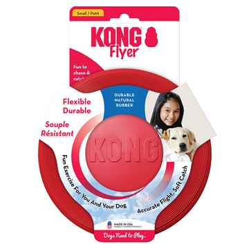 Picture of TOY DOG KONG RUBBER FLYER Small (KF15) - 6.5in