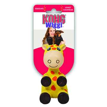 Picture of TOY DOG KONG Wiggi Giraffe - Large
