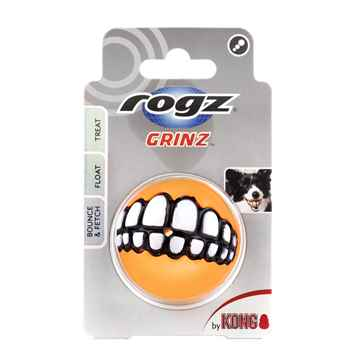 Picture of TOY DOG ROGZ/KVP Grinz Ball  2in  - Assorted Colors