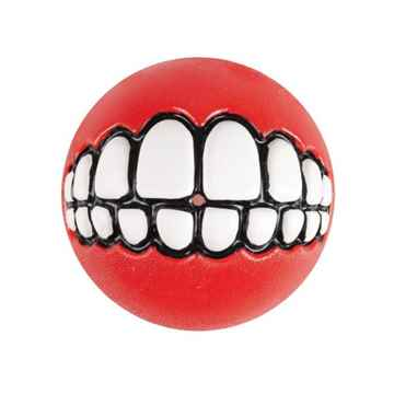 Picture of TOY DOG ROGZ GRINZ BALL 2.5in - Red