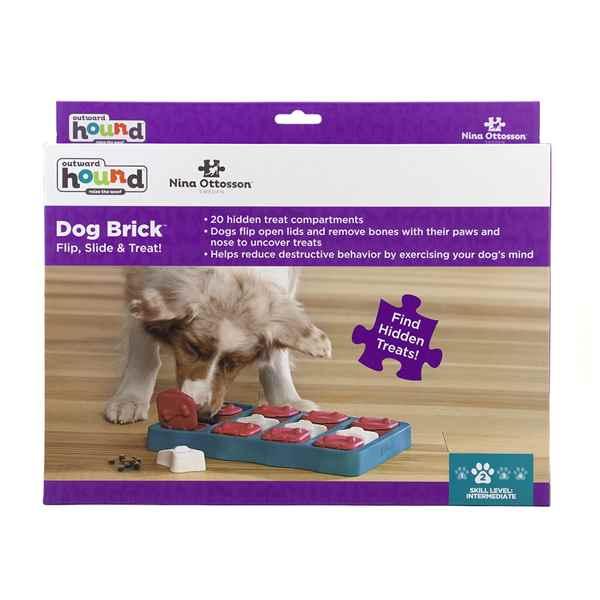 Picture of TOY DOG PUZZLE Nina Ottosson Dog Brick