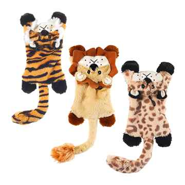Picture of TOY DOG SKINNEEEZ Flat Cats Assorted - 14in
