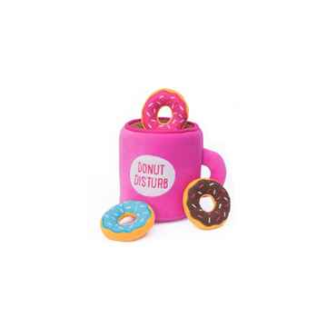 Picture of TOY DOG ZIPPYPAWS BURROWS - Coffee'n Donutz