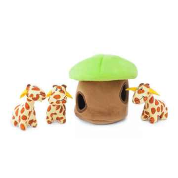 Picture of TOY DOG ZIPPYPAWS BURROWS - Giraffe Lodge