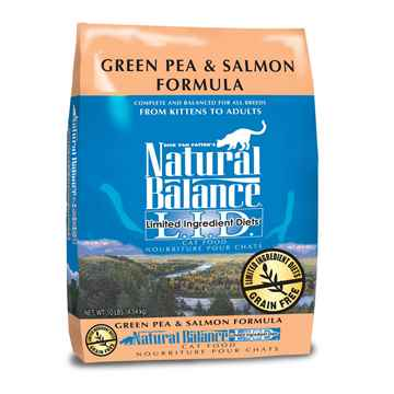 Picture of FELINE NATURAL BALANCE LID GF Green Pea & Salmon - 10lbs