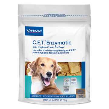 Picture of CET ENZYMATIC ORAL HYGIENE CHEWS LARGE - 30's