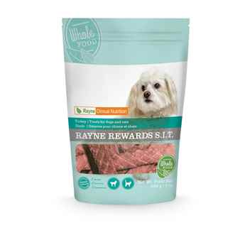 Picture of CANINE/FELINE RAYNE REWARDS JERKY TURKEY - 200gm
