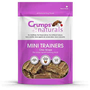 Picture of CRUMPS DOG MINI TRAINERS CHIC SNAPS - 4.2oz