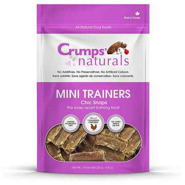 Picture of CRUMPS DOG MINI TRAINERS CHIC SNAPS - 8.8oz
