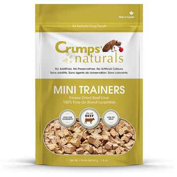Picture of CRUMPS DOG MINI TRAINERS FREEZE DRIED BEEF LIVER - 1.8oz
