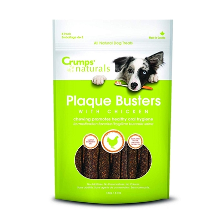 Picture of CRUMPS NATURALS DOG PLAQUE BUSTERS Chicken 7in  - 8/pk