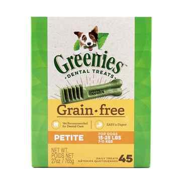 Picture of GREENIE CANINE DENTAL TREAT GRAIN FREE  27oz  Petite - 45/box